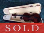 Academy 4/4 Violin Outfit - -SOLD